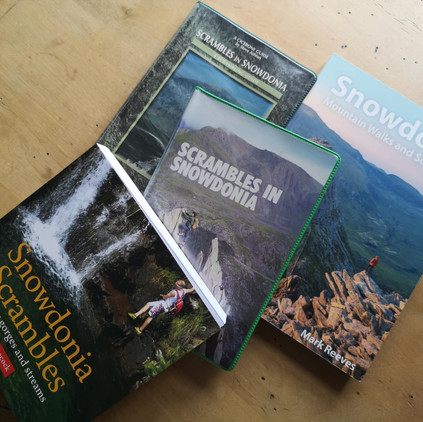 No such thing as scrambling? But there are four guidebooks!