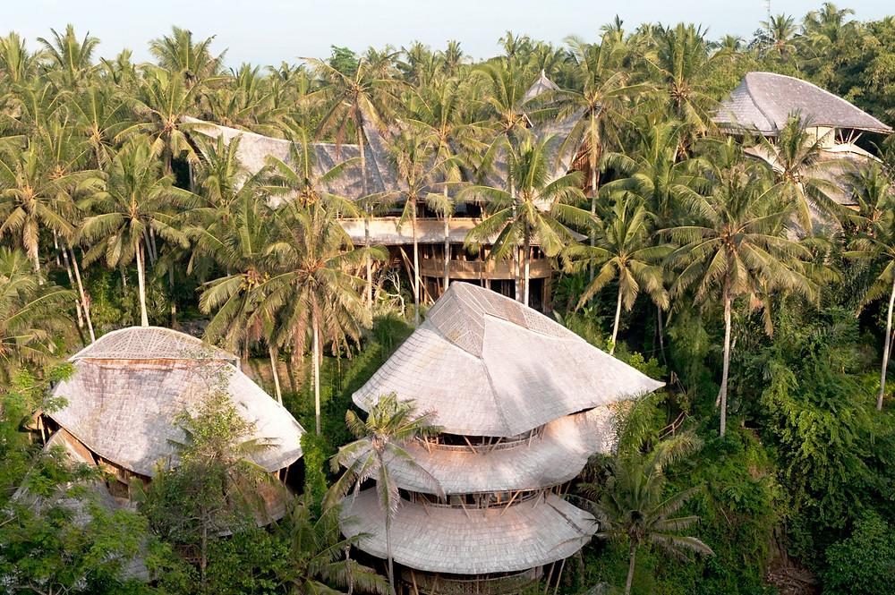 Ibuku's Green Village, a private residential complex in Bali