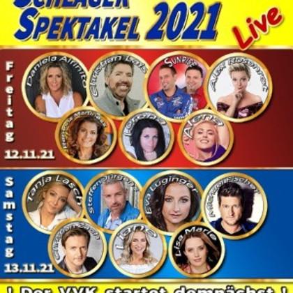 Schlager Spektakel 2021, beide Tage, 12.+13.11.2021