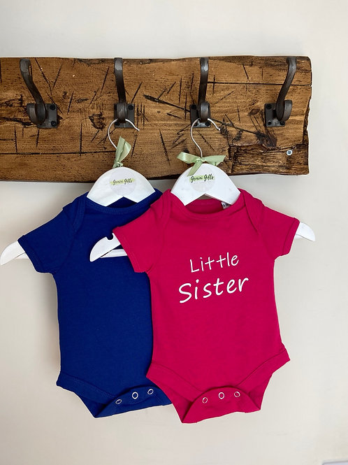 Little Brother or Little Sister Bodysuit