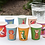 Thumbnail: 8 Colourful Creatures Paper Cups