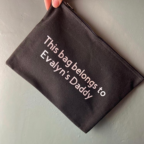 Personalised Travel Bag