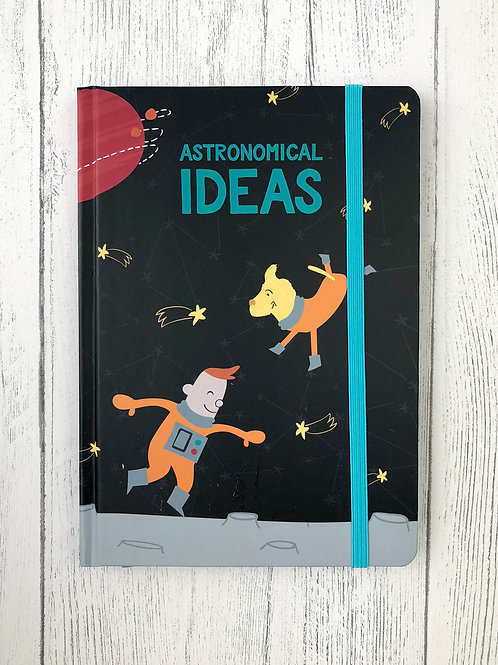 Space Adventure Range A5 Notebook
