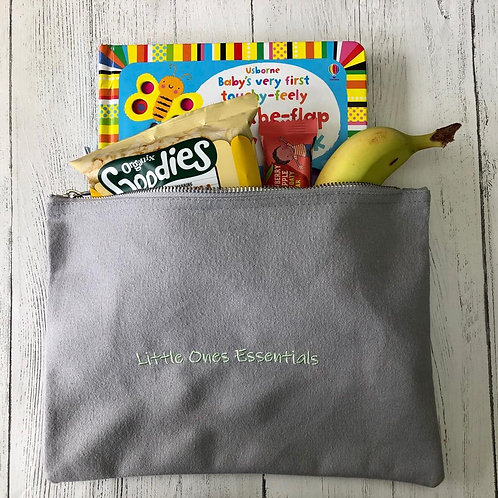 """""""Little Ones Essentials"""" bag (grey)"""