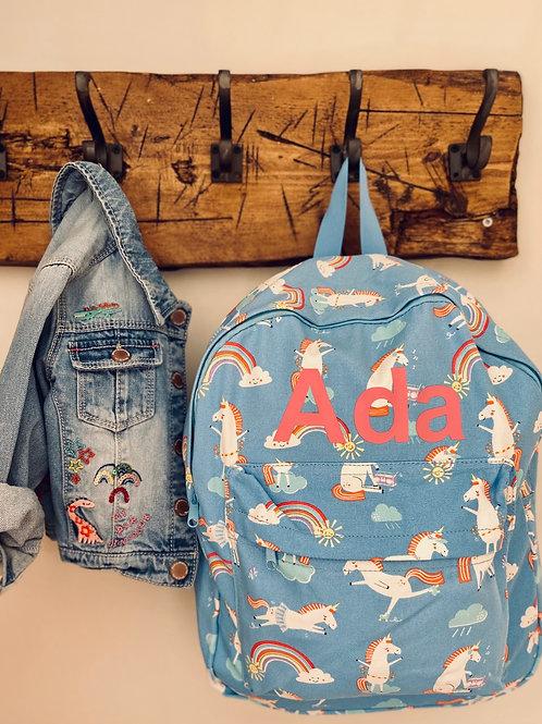 Large Unicorn Backpack