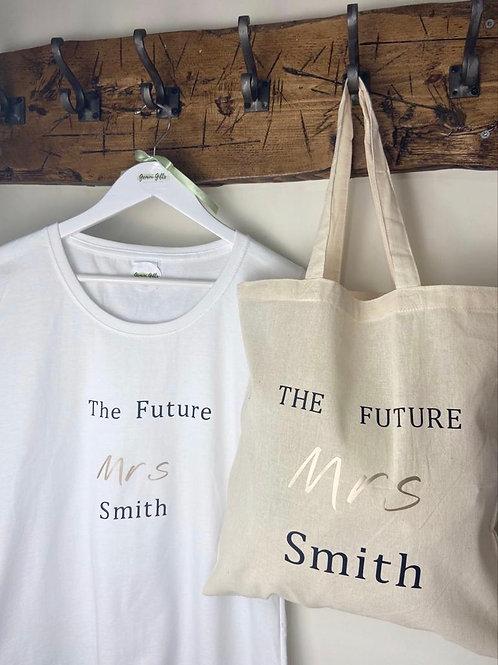 """""""The Future Mrs..."""" T-shirt"""