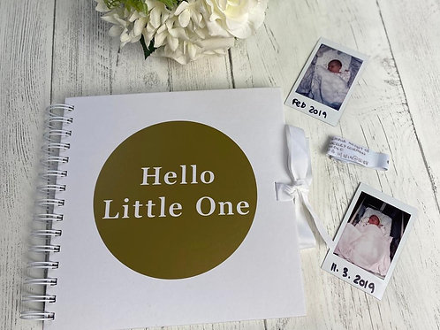 Hello Little One Book