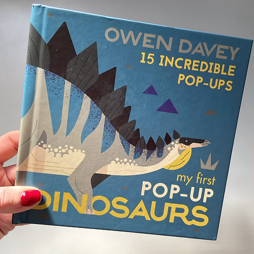 My First Pop Up Dinosaurs: 15 Incredible Pop Ups