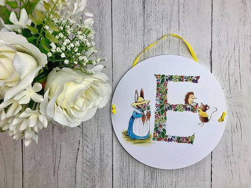Alphabet Nursery Plaque