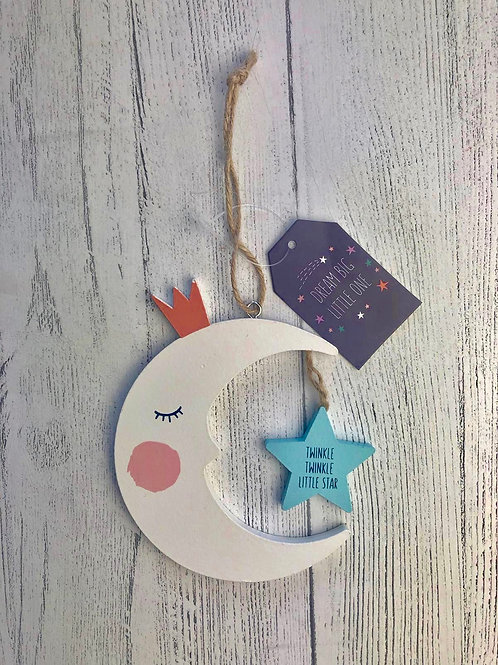 Hanging Moon Decoration