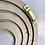 Thumbnail: Rainbow Personlised Hair Bow holder.