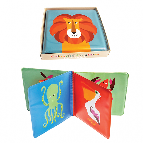Colourful Creatures Bath Book
