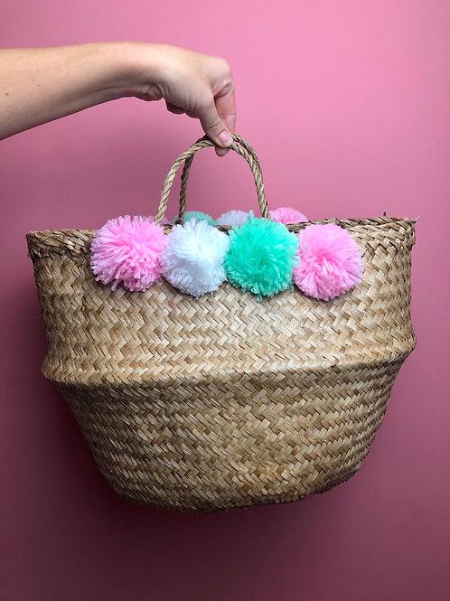Pom-Pom Belly Basket