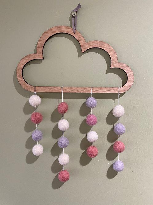 Pink & purple Colour cloud