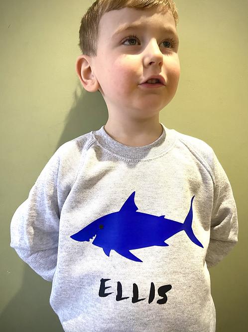 Personalised Shark Jumper