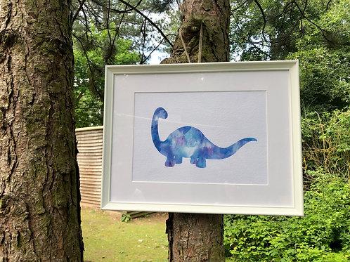 Teilosaurus Print
