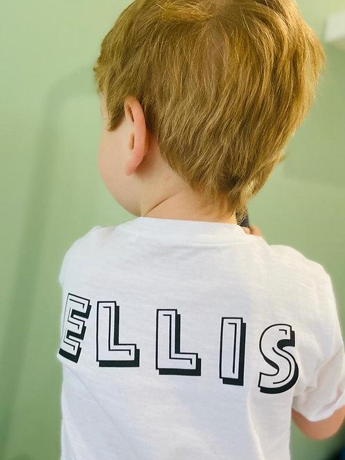 Kids named t-shirt