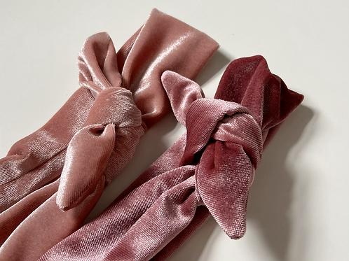 Velvet Handmade Head Wraps