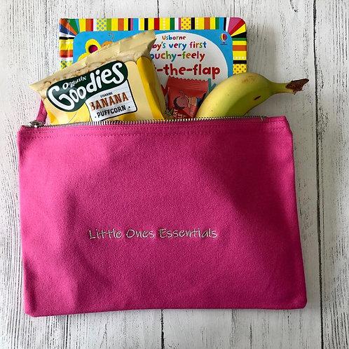 """Little ones Essentials"" bag (pink)"