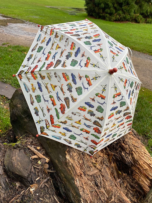 Vintage Transport Umbrella