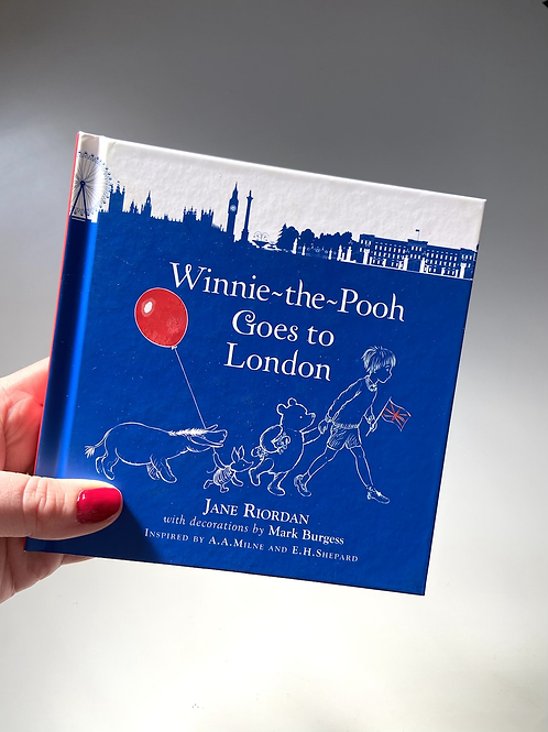 Winnie The Pooh Goes To London