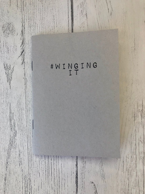 #Winging It A6 Pocket Note Book