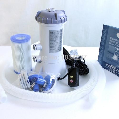 Intex 28638 Pool Filter Cartridge Pump 1000 GPH