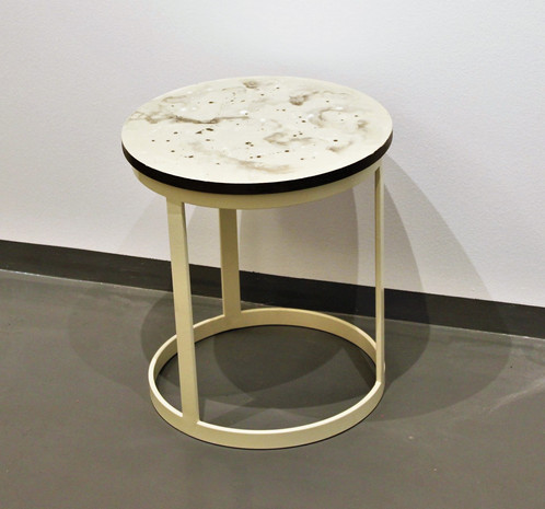 Set Of Colored Resin Side Table (D: 40x45cm U0026 40X35cm), Resin Table ,abstract,resin Art, Luxury Furniture,modern Furniture, Living Room,coffee,  End Table