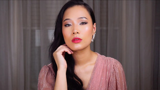 GLAM CHRISTMAS PARTY MAKEUP TUTORIAL