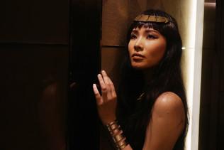Easy Last Minute Halloween Makeup : Egyptian Queen