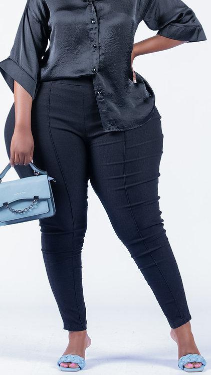 Black super stretch pants