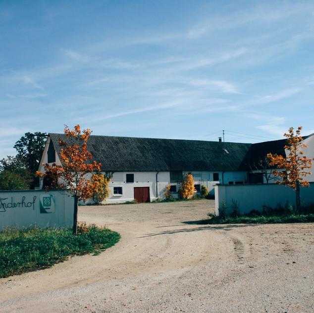 Hofeinfahrt Rinderhof