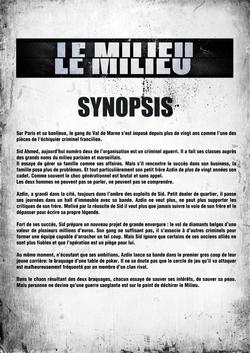05 - Le Milieu Doc - Synopsis