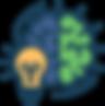 brain lightbulb ideas strategy