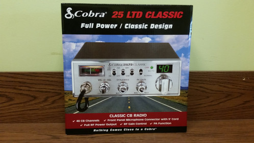What is the way to increase the power output on a Cobra CB radio?