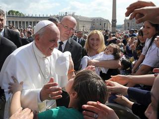 """El Papa recuerda que el Bautismo """"es un don del Espíritu Santo"""""""