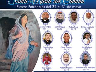 NOVENAS Y FIESTAS PATRONAL DE LA PARROQUIA SANTA MARÍA DEL CAMINO