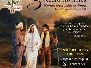 III Retiro de Emaús para Hombres