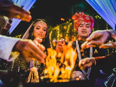 A Lawn Punjabi Wedding