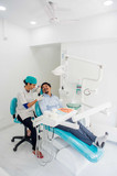 Prewed at a Dental Clinic