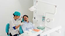 Prewed at a Dental Clinic