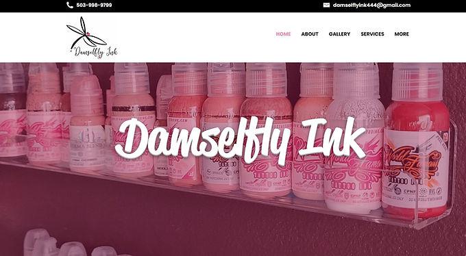 Damselfly Ink