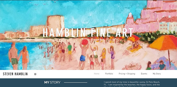 Steven Hamblin Fine Art