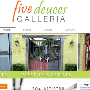 website development home page