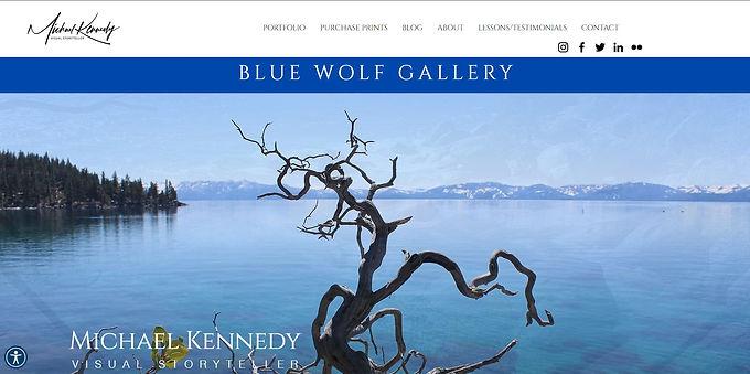Blue Wolf Gallery