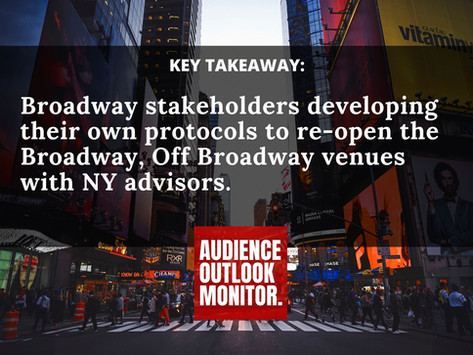 """Theater Producers """"Completely Aligned"""" With New York Gov. Andrew Cuomo's Re-Opening Process And Plan"""