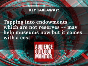 """""""Endowments Thrust Onto Stage: As museums and other arts groups dip into funds.. here's the process"""""""