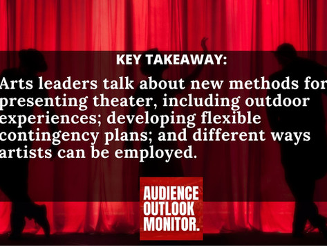 """""""How Do We Move Towards Recovery In The Arts: Cultural Leaders Weigh In"""""""
