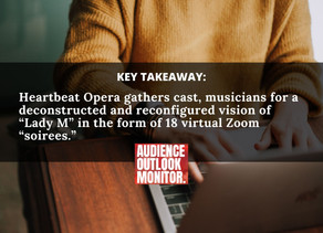 """""""Covid-era opera is getting more intimate, accessible and experimental"""""""