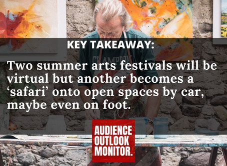 """Connecticut summer theater festivals reinvent  themselves for social distancing"""